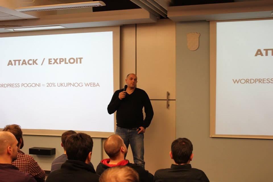 Goran Šerić je u svom predavanju WordPress kao framework pričao o tome kako on koristi WordPress kao framework za svoje projekte