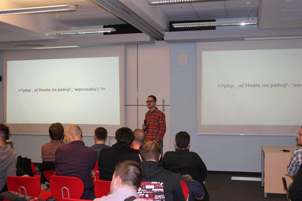 Jurica Zuanović održao je predavanja o WordPressu na hrvatskom jeziku