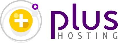 Plus hosting logo